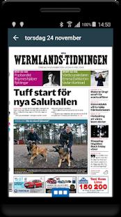 Nya Wermlands-Tidn. e-tidning - náhled