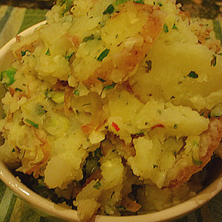 Greek Pot Crushed Potatoes