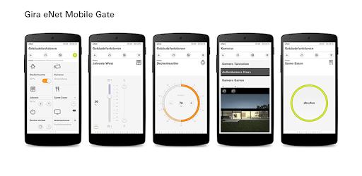 gira enet mobile gate apps on google play. Black Bedroom Furniture Sets. Home Design Ideas