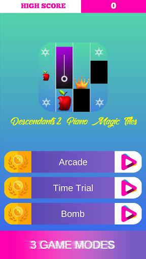 Descendants 2 Piano Magic Tiles 1.2 screenshots 2