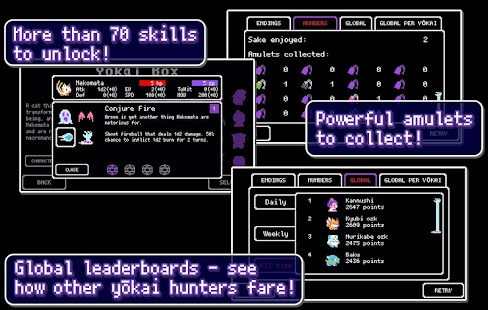 Yōdanji: The Roguelike- screenshot thumbnail