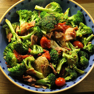 Colourful Chicken & Broccoli Dish