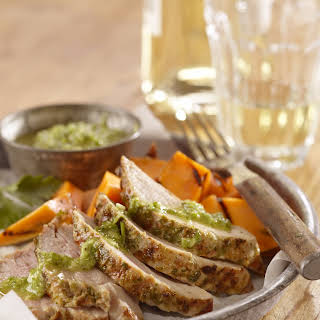 Grilled Pork Tenderloin Chimichurri.