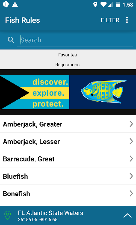 Fish rules android apps on google play for Fish rules app