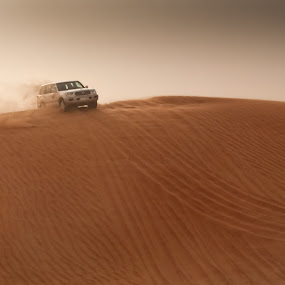 Dune Bashing by Jon Marshall - Landscapes Deserts