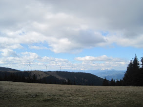 Photo: Windpark auf der Pretulalpe
