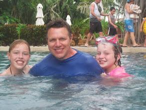 Photo: Enjoying the Westin pool