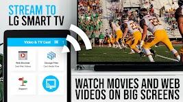 screenshot of Video & TV Cast + LG Smart TV | HD Video Streaming