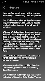 Wedding Cake Recipe - náhled