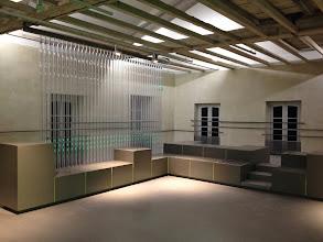 Photo: L'espace évocation de l'atelier Goubely