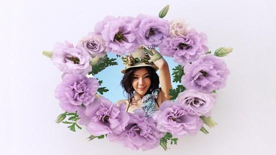 Beautiful Flower photo frames screenshot