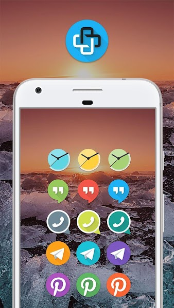 Mate UI - Material Icon Pack- screenshot