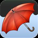 Regenmeldung icon
