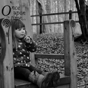 by Ruth Holt - Black & White Street & Candid ( child, story, storytelling, think, normanby,  )