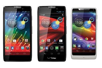 Photo: Motorola extends its Droid Razr lineup with Razr HD, Razr Maxx HD and Razr M http://t.in.com/7rS1