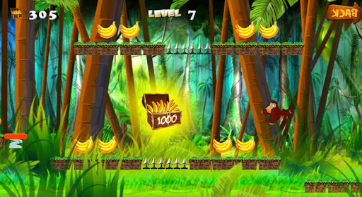 Jungle Monkey running Apk Download Free for PC, smart TV