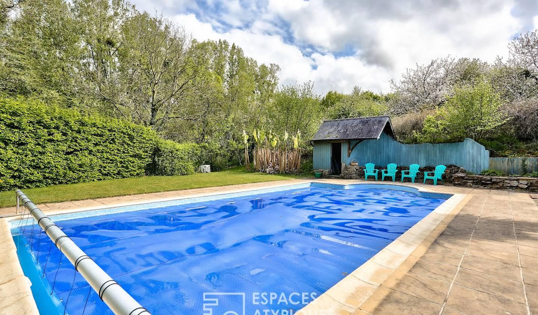 Maison avec piscine Quévert
