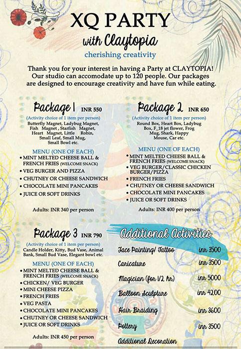 Bistro Claytopia menu 7