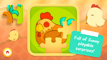 Animal Puzzle - Game for toddlers and children