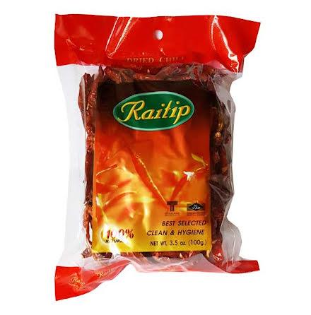 Dried Chili Whole 100g Raitip