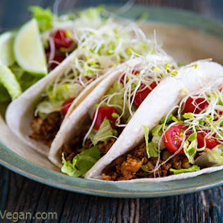 Lentil and Cauliflower Rice Taco Filling