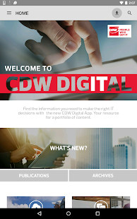 CDW Digital- screenshot thumbnail