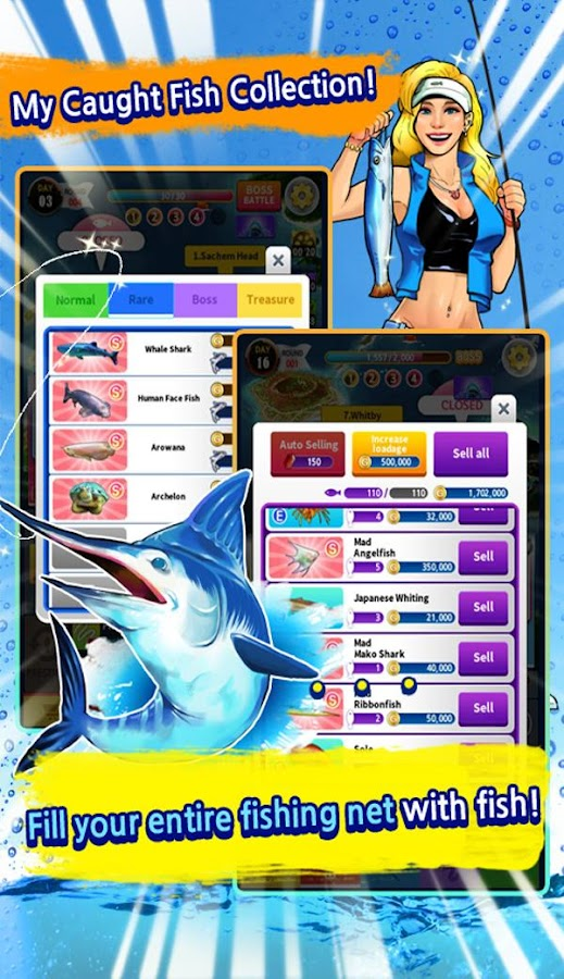 Tap fishing master idle clicker android apps on google for Tap tap fish game