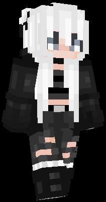 Hair Black Nova Skin