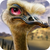 Ostrich Hunter Shotgun Shooter