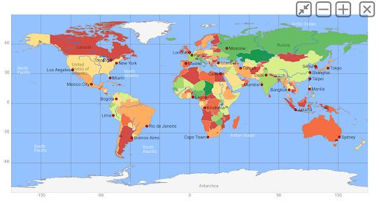 World atlas & world map MxGeo Pro APK [Latest] 6