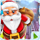 De Santa Run Xmas Subway Surf icon