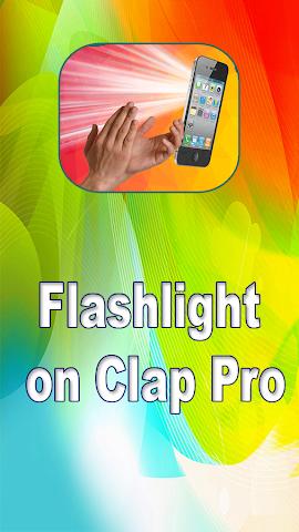 android Flashlight on Clap Pro Screenshot 0