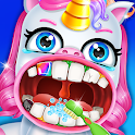 Unicorn Pet Dentist Dental Care Teeth Games icon