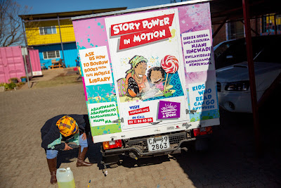 Story power in motion as tuk-tuk libraries take to the streets