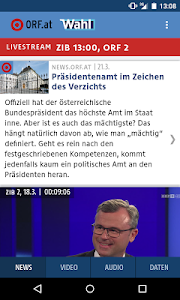 ORF.at Wahl screenshot 2