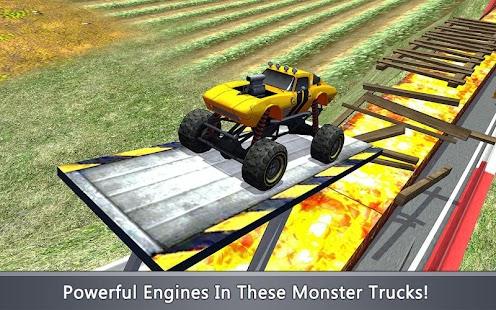 Monster Trucks X: Dangerous Tracks - náhled