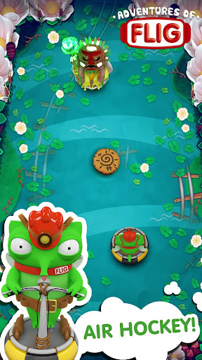 Adventures of Flig - Air Hockey Multiplayer Free apklade screenshots 2