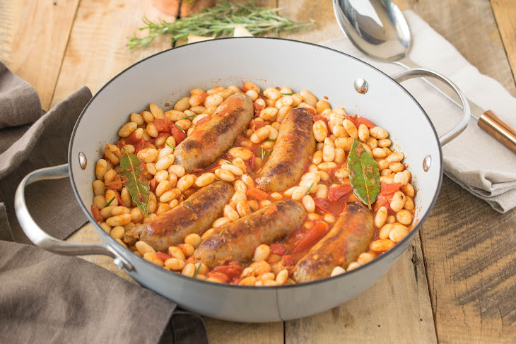 Italian Sausage and Bean Casserole Recipe