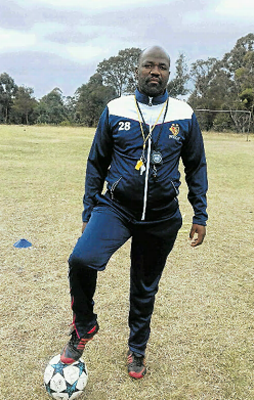 New Butterworth coach, Nyaniso Mfihlo, aims to help his side reach the top five teams in the third-tier league