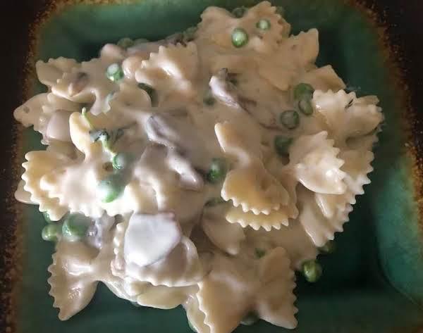 Farfalle W Creamy Mushroom Gorgonzola Sauce