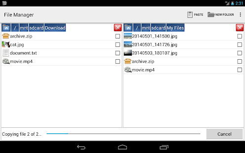 File Manager by Moniusoft- screenshot thumbnail