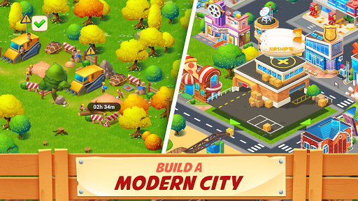 City Bay : Farming & City Island screenshot 3