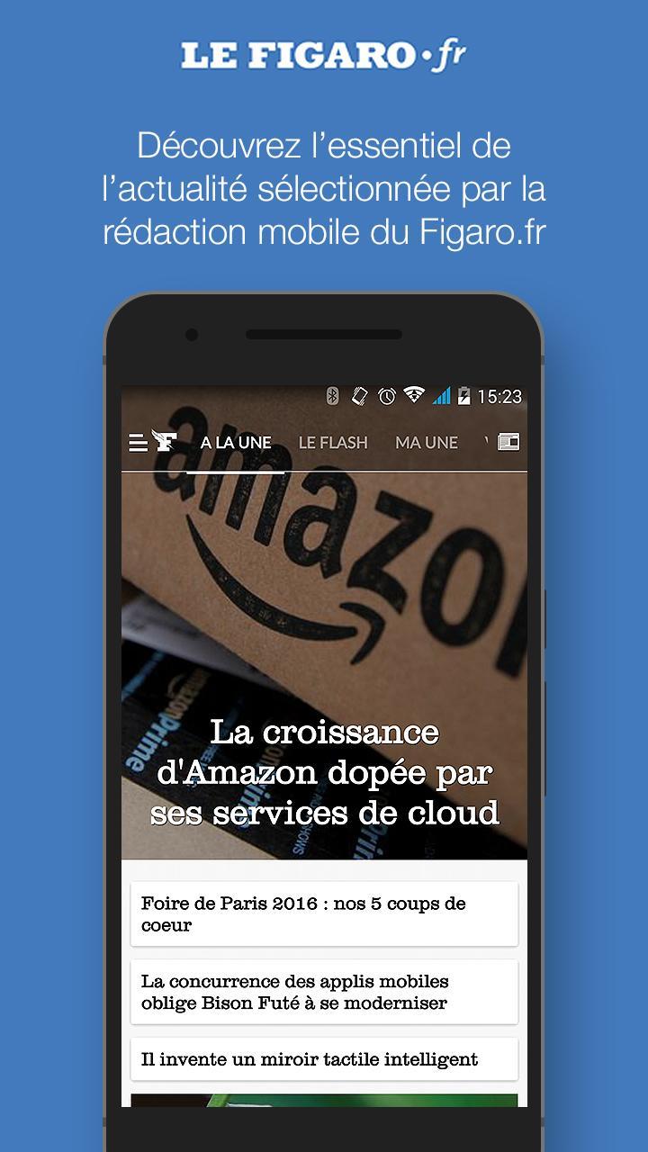 Le Figaro.fr: Actu en direct Screenshot