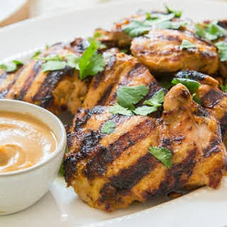 Chicken Thighs With Peanut Sauce Recipes.