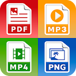 All Files Converter - Office Suite: PDF,  DOC, JPG 21.0