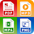 All Files Converter - Office Suite: PDF,  DOC, JPG