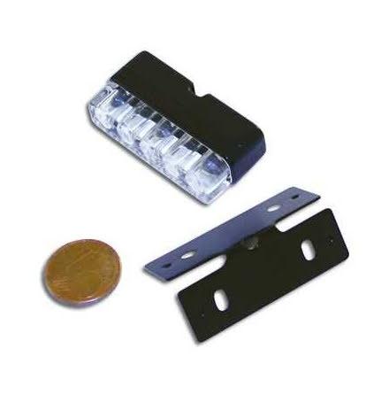 Mini led registeringsskyltsbelysning