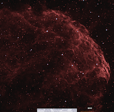 Photo: IC 443 Jellyfish Nebula from more 'recent' work in November. 2hrs and 10min of 7nm Ha work!