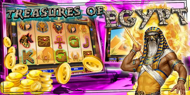 7 free slots treasures of egypt