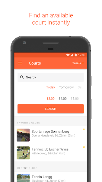 GotCourts - Book Courts, Partners & Coaches